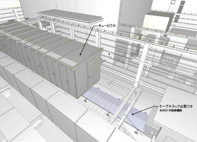 図2の画像(屋上キュービクルまわり)