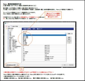 図3)レブロ図面作成マニュアル